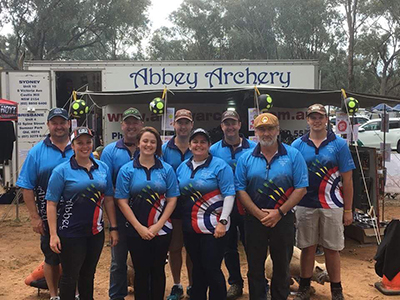The Abbey Archery Team at WFAC Wagga Wagga 2016