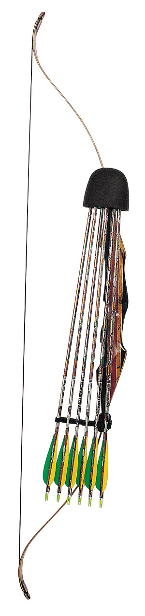 Selway rubber hood 6 arrow recurve bow quiver