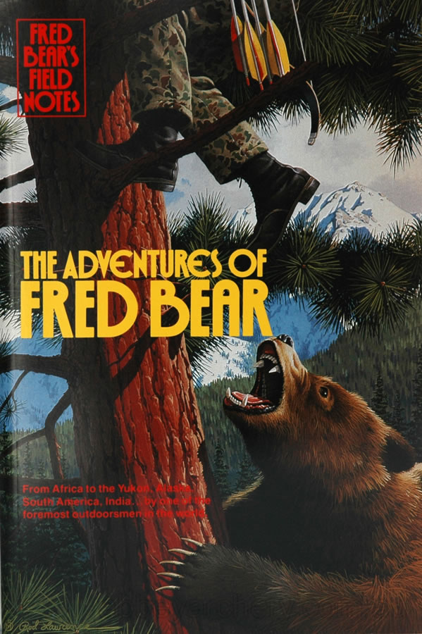 Book fred bear s field notes