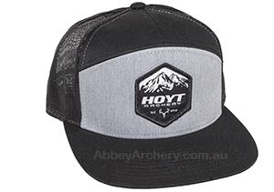 Hoyt 7 panel flatty mesh cap image fa00da14244