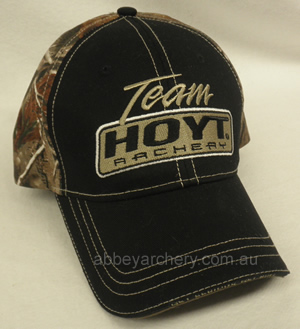 0536e644aa2 Team Hoyt black and camo cap image