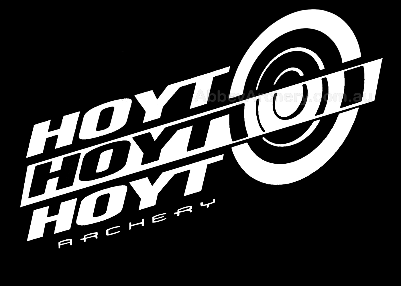 Hoyt Target Decal 11 25in X 5 5in