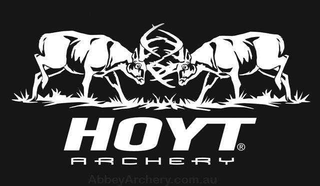 Hoyt Fighting Bucks Decal 11 25in X 5 5in
