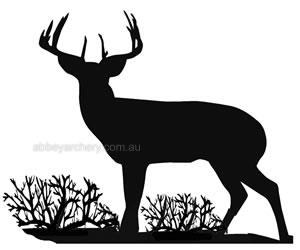 Vista Standing Buck Decal