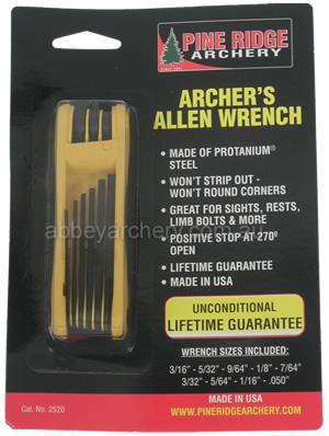 Pine Ridge Archers Allen Wrench Image