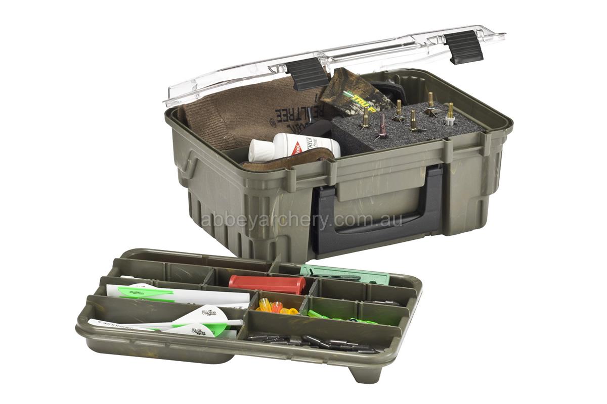 Archery Storage Box Portable Case Broadheads Nocks Points Protector with Sponge