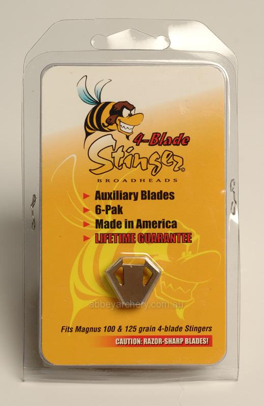 Magnus Stinger Buzzcut 125gr 4 Blade **FREE SHIPPING**