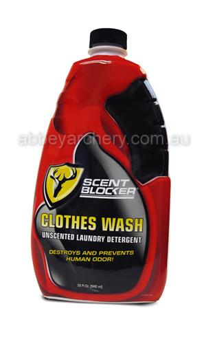 adc1c297275ab ScentBlocker Clothes Wash 32 fl oz or 946ml image. ScentBlocker Clothes Wash  Unscented Laundry Detergent ...