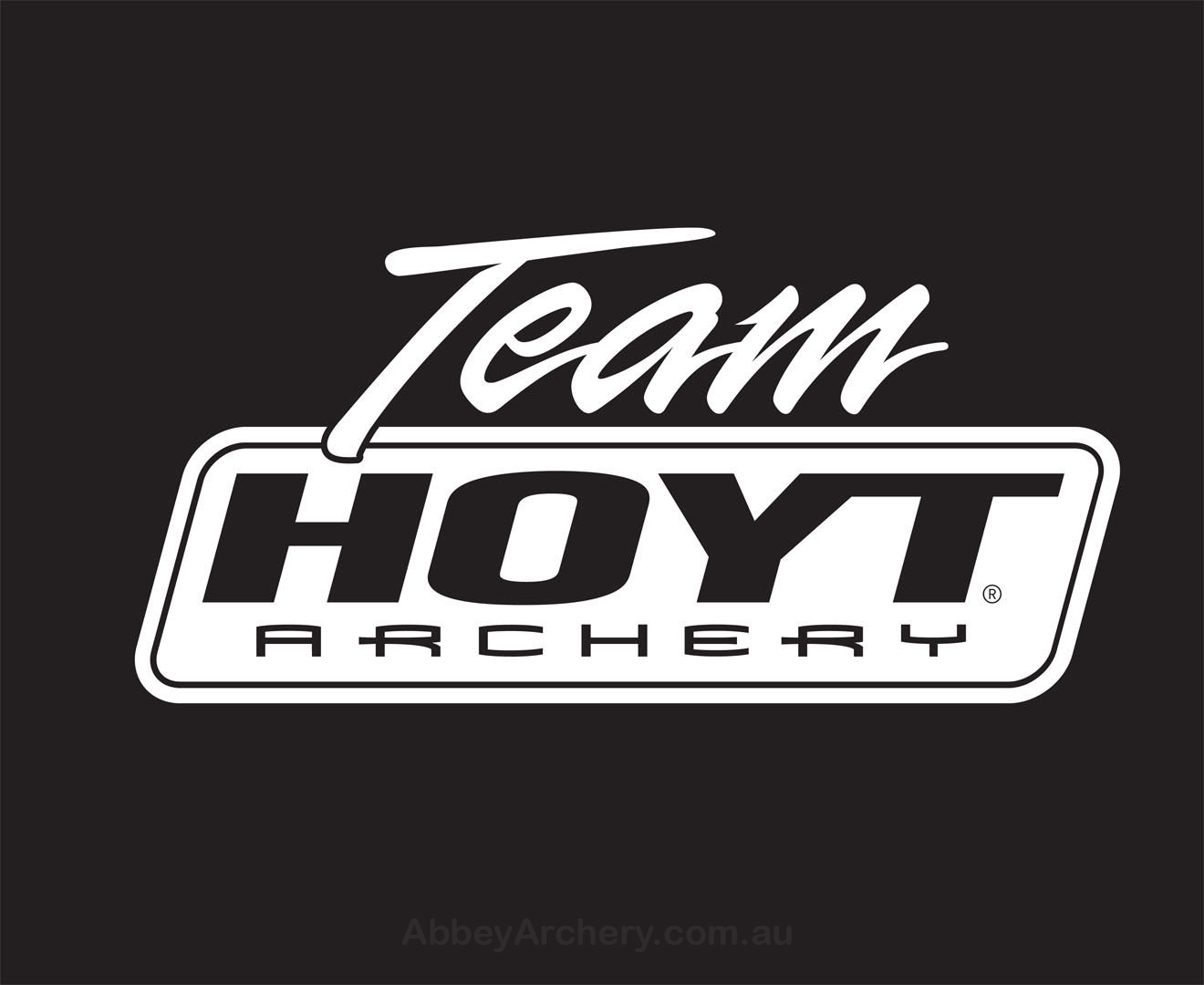 Team Hoyt Decal 9 25in X 4 5in