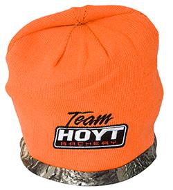 Hoyt camo and blaze orange reversible hunting beanie 63620414ca0