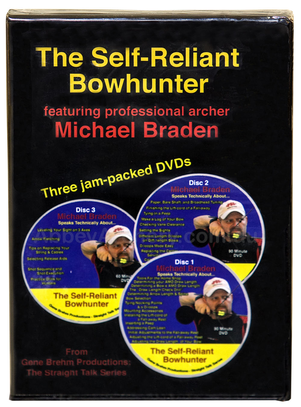 DVD The Self-Reliant Bowhunter by Michael Braden